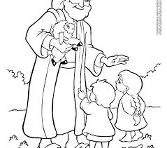 Picture Jesus Coloring Pages