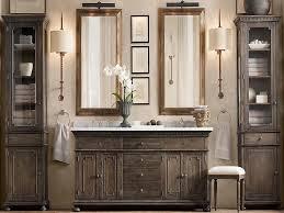 Weathered Rustic Bathroom Vanity
