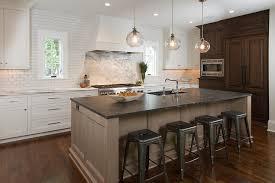 light brown oak kitchen island transitional kitchen