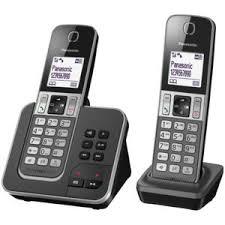 panasonic téléphone fixe sans fil avec répondeur tgd322frg