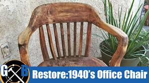 Restoring A Vintage 1940's Office Chair (Attempt) :: How To Vintage Used Antique Rocking Chairs For Sale Chairish Learn To Identify Fniture Chair Styles 1890s Amish With Cane Back And Upholstered Seat Fding The Value Of A Murphy Thriftyfun Stickley Arts Crafts Mission Style Oak Rocker Murphys Rocking Chairgrandparents Had One I Casual Ding Brown Cushion Wood Metal Rolling Caster Serta Upholstery Monaco Wing Rotmans Hay Llrocking Chairnordic Style Design Chair How Replace Leather In An Everyday Solid Oak Carver Ding Room Hall Bedroom Vintage With Arms Carryduff Belfast Gumtree
