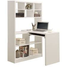 Black Wood Corner Computer Desk by Furniture Black Wooden Desk With Hutch And Book Shelf Also