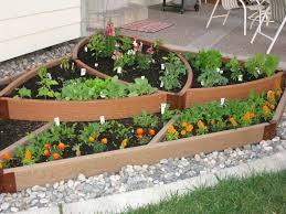 s Hgtv Raised Garden With Wood Borders Loversiq Beautiful