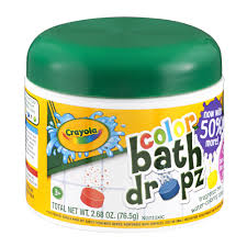 crayola bath dropz color 2 68 oz walmart com