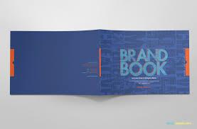100 Cool Blue Design Free Brand Guidelines Template Brandbooks ZippyPixels