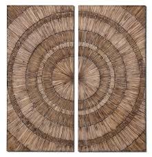 uttermost lanciano wood wall art 07636