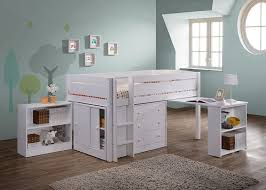 amazon com canwood whistler junior loft bed white kitchen dining