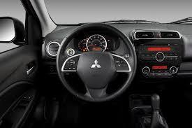 2015 Mitsubishi Mirage review mpg msrp engine interior