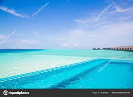 100 Maldives Infinity Pool Beauty Nature Concept Amazing