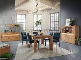 esszimmer 4teilig altenau wildeiche massiv rustikal natur geölt casade mobila