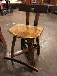 World Market Chair And A Half by Furniture Wine Barrel Bar Stools Vintage Oak Half With Leather