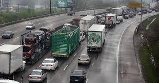 100 Stuck Trucks Congestion Cincinnati Highway Among Worst In Nation