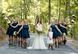 Rustic Wedding At In The Woods