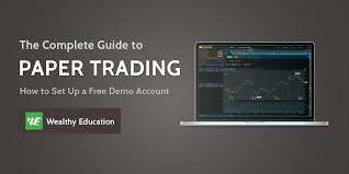 Sink Or Swim Trading by How To Setup A Thinkorswim Paper Trading Account Updated 2018