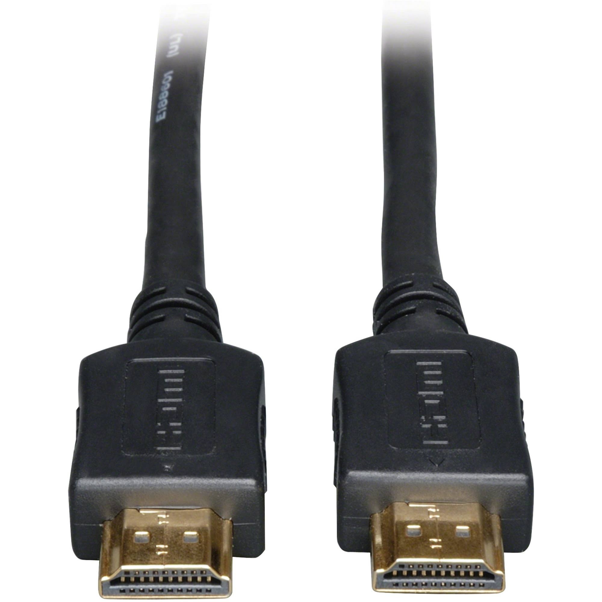 Tripp Lite P568-006 High Speed Audio Video Hdmi Cable - Black, 6'