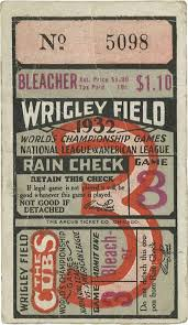 World Series Ticket Stub 1932
