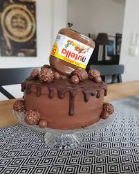 nutella torte nutella cake birthdaycake torte nutella