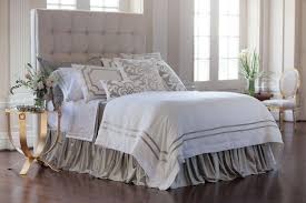 Box Pleat Bed Skirt by White And Silver Bed Skirt Silver Bed Skirt Look So Fabulous
