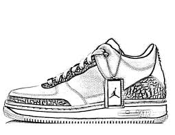 Neevtech Blog A Air Jordan Coloring Pages Shoes