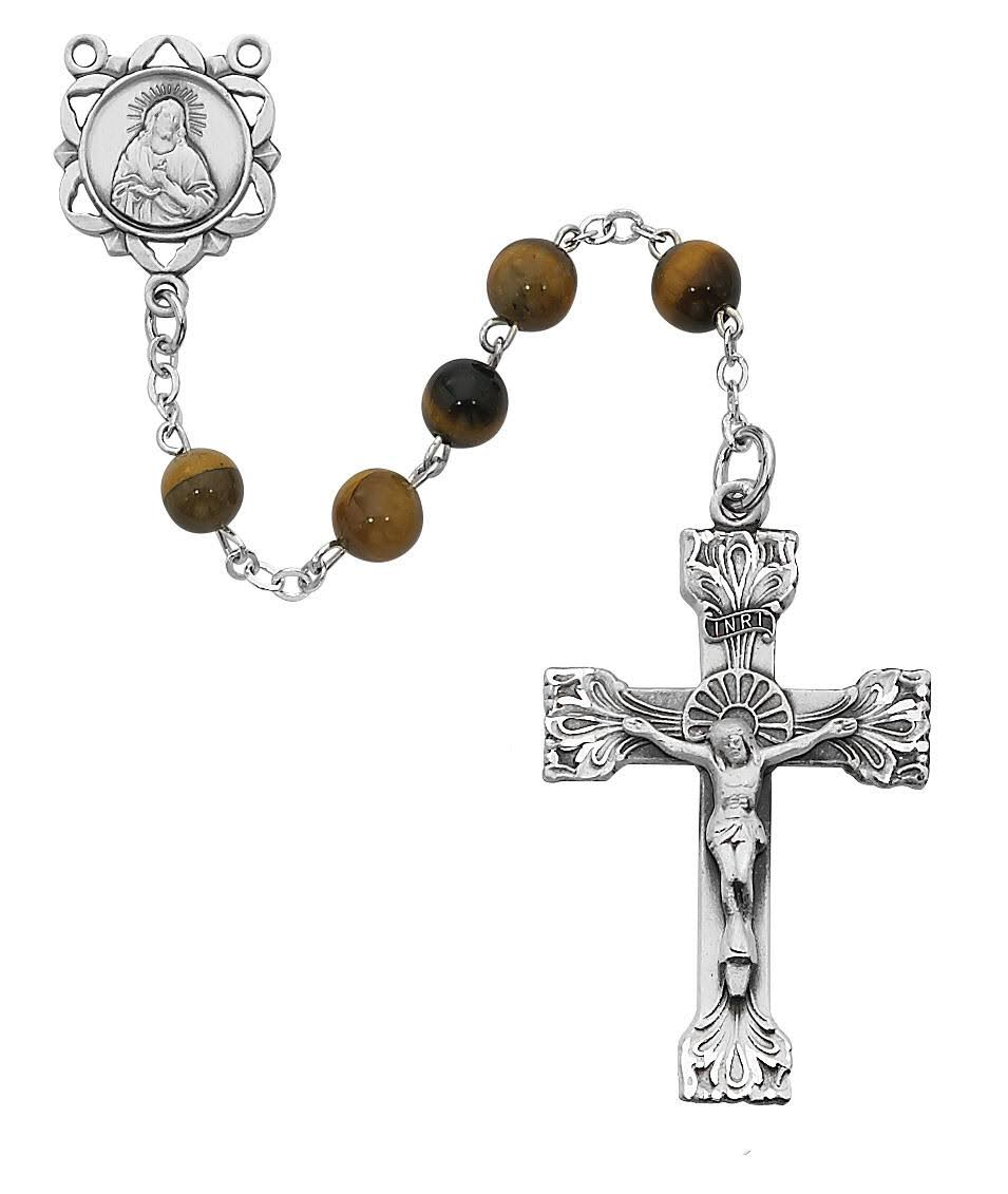 McVan-6mm Genuine Tiger Eye Rosary