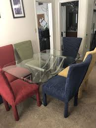 Ultra Modern Dining Room Table Set With 6 Chairs For Sale In Indianapolis IN