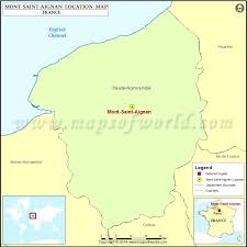 where is mont aignan located in