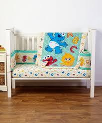 sesame street sesame beginnings three piece crib bedding set zulily