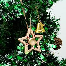 Matashi Crystal Christmas Tree Star Spinner With Shaped Ornament