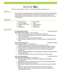 Simp Call Ce Customer Service Resume Examples Center