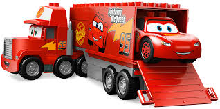Lightning McQueen Mack Trucks Lego Duplo Toy Block - Lightning ...