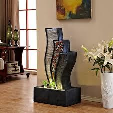 design dekoration wohnzimmer wasserbrunnen dekoration