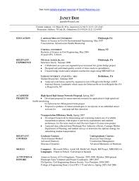 sle civil engineer resume