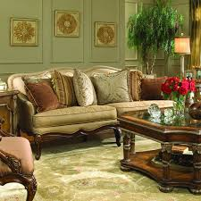 Homelegance 15893 Casanova Sofa Burnished Cherry MAKING