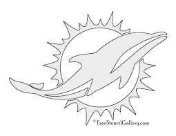 Dallas Cowboys Pumpkin Pattern by Nfl Miami Dolphins Stencil Free Stencil Gallery