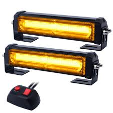 Amazon.com: WOWTOU Amber Grille Light Head, 16W Bright Linear LED ... 10x Amber Car 12 Led Emergency Strobe Light Kit Bar Marker Flash Leegoal Automotive Accsories 5 Price In Malaysia Best Multi Mode 16pcs 24in Slim Tubes Single Color Accent Trucklite 92845 Hideaway Black Flange Mount Remote White Trucklite Super 60 Nonmetalized 36 Diode Yellow Oval Auto 12v 30w 240 Pics Bulb Red Blue Green Truck Aura Running Board Lights Opt7 For Sale Resource 16 Leds 18 Flashing Modes Flasher Dash Blazer Intertional Kitc4845 The Home Depot Led Lighting Magnificent Battery Powered