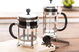 Stainless Steel Coffee Press Available In 4 Cup And 8