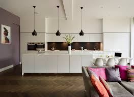 high end kitchens kitchen contemporary with black pendant light