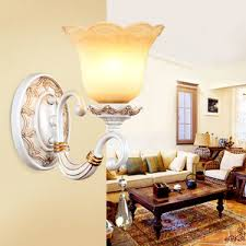 contemporary wall lights with 2 light glass shade cylinder