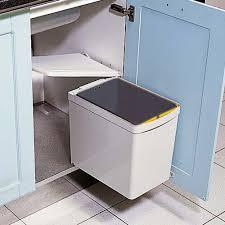 poubelle cuisine de porte poubelle de cuisine monobac pour la gestion des déchets pour votre