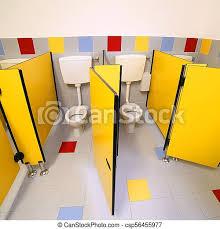 kindergarten toilette badezimmer toiletten wenig leute