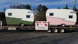 Custom Built Campers Look Vintage