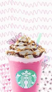Lockscreen Wallpaper Tumblr Collage Overlay Papel De Parede Starbucks Coffee Pink Pastel