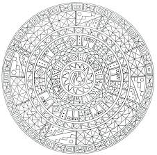 Free Printable Mandala Coloring Pages For Adults Pdf Tagged Online Medium Size