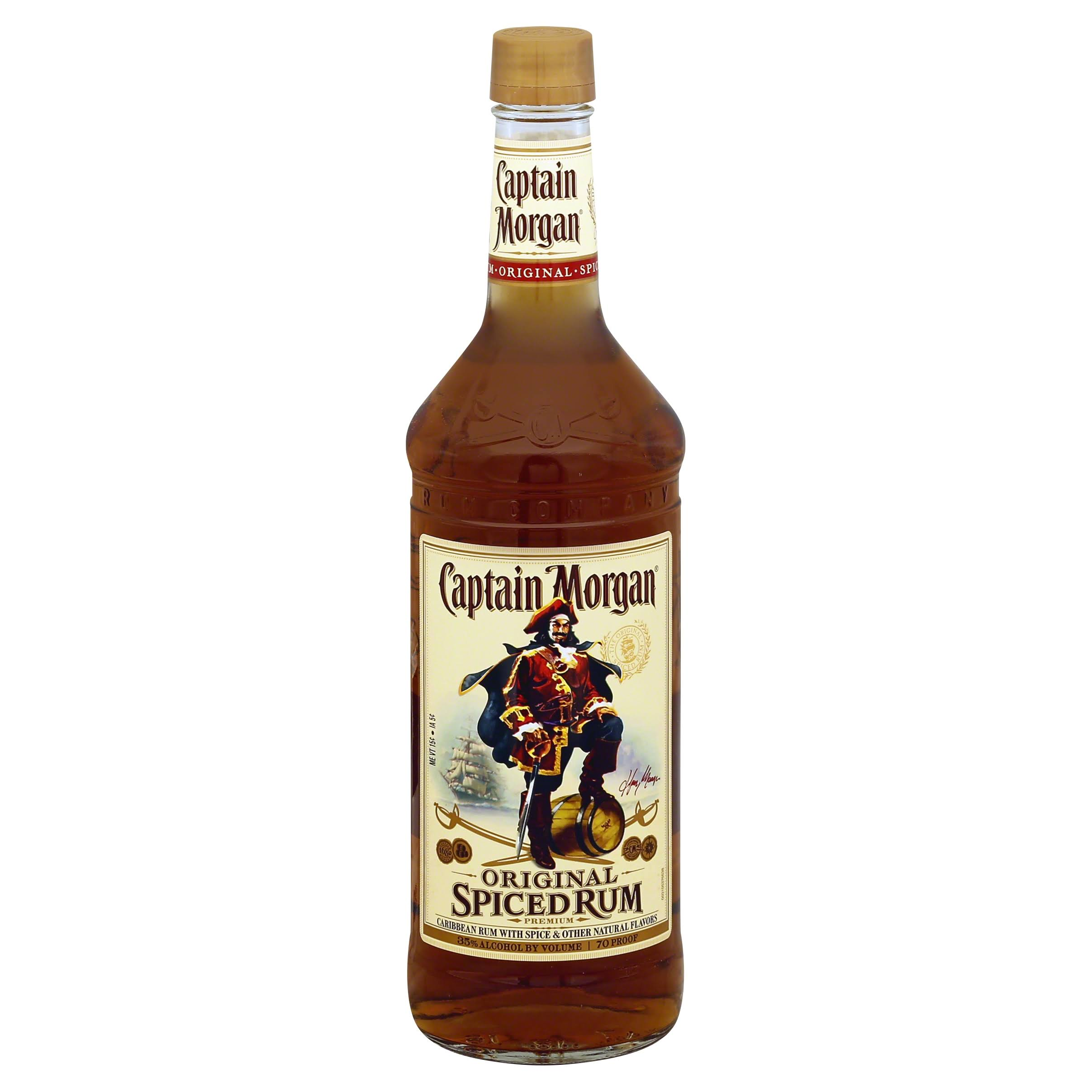 Captain Morgan Rum, Spiced, Original