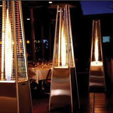 Pyramid Patio Heater Glass Tube by Glass Tube Heater In Stainless Steel