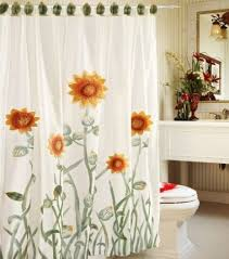 White Kitchen Curtains With Sunflowers by 130 Best Sunflower Curtain Images On Pinterest Sunflowers