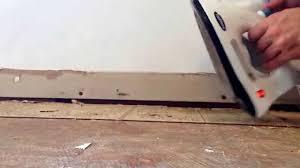 12x12 Vinyl Floor Tiles Asbestos by How To Remove Old Vinyl Tile Using 2 Irons Best Method Youtube