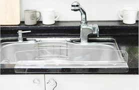 kitchen sink 水はね防止 韓国産 water splash guard made in