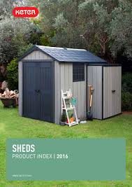 Keter Manor Plastic Shed 4 X 6 by Keter Product Index Sheds 2016 By Bpgoutdoor Issuu