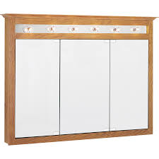 shop project source 49 5 in x 36 in surface medicine cabinet with